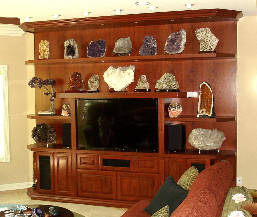 Walnut Wall Unit - Woodworking Project by Bentlyj