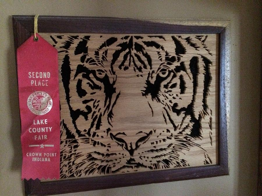 The Bengal tiger - Woodworking Project by Corey