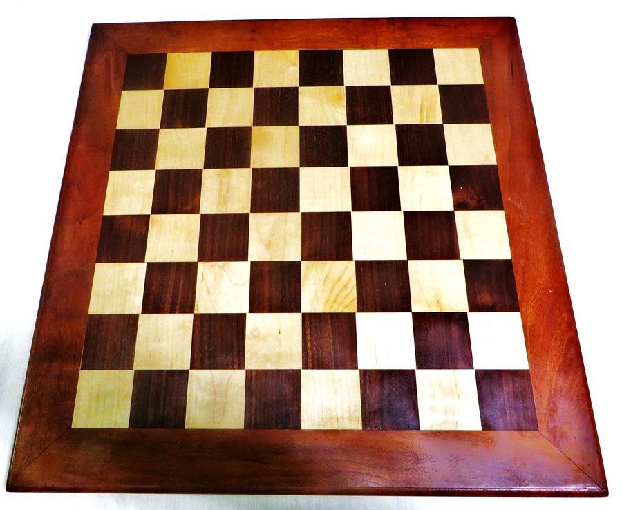 Chess Board - Woodworking Project by oldrivers