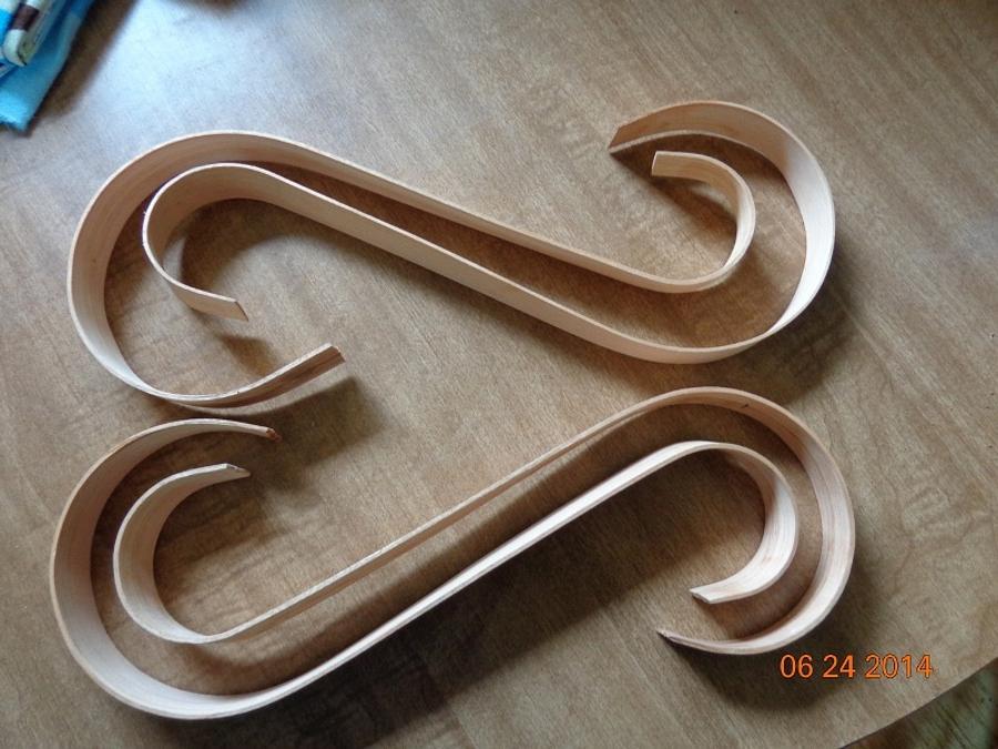 Beginner steam bending - Woodworking Project by MontyJ