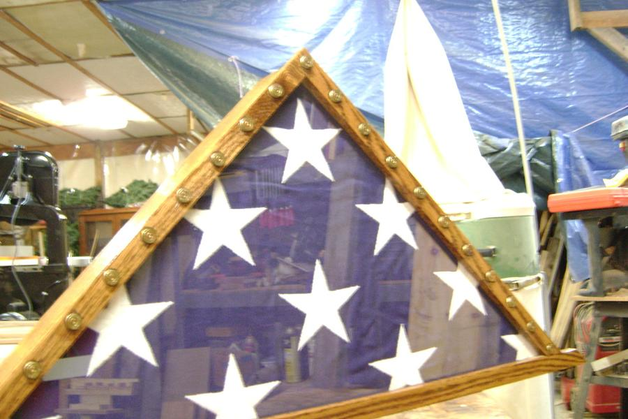 21 Gun Salute Flag Display - Woodworking Project by Jeff Smith