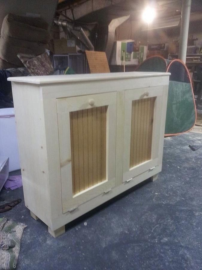 Garbage bin - Woodworking Project by twigg