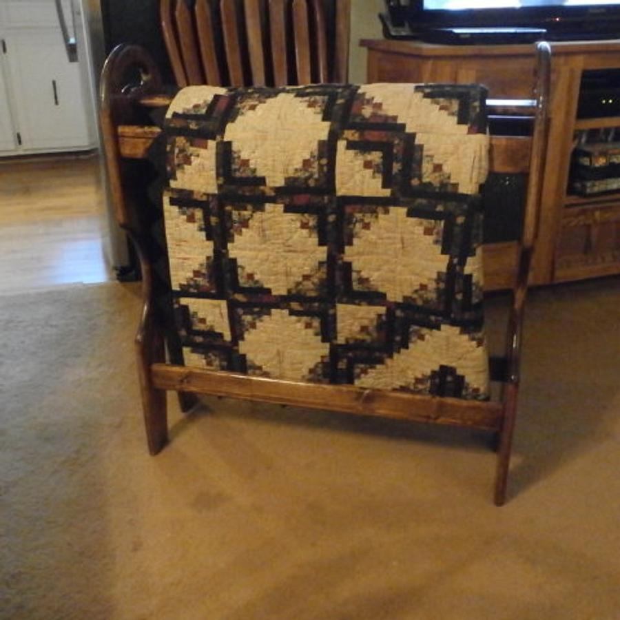 Quilt Rack - Woodworking Project by BillO
