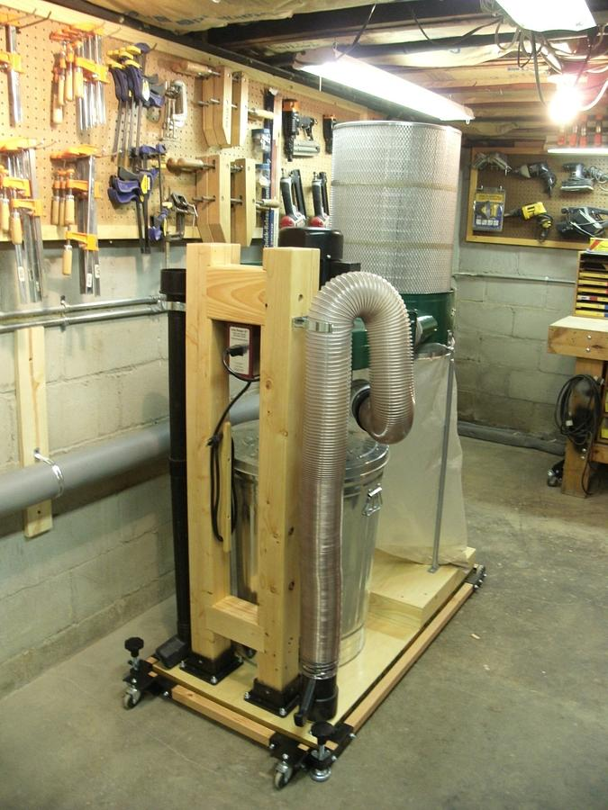 Harbor Freight Dust Collector Conversion - Woodworking Project by kdc68