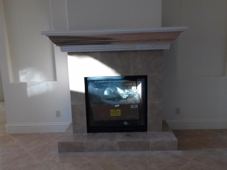 Fireplace Mantle - Woodworking Project by Ben Buxton