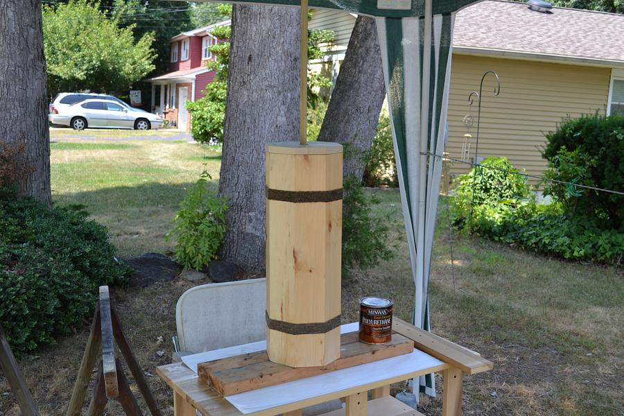 Butter churn - Woodworking Project by Tom Haggerty