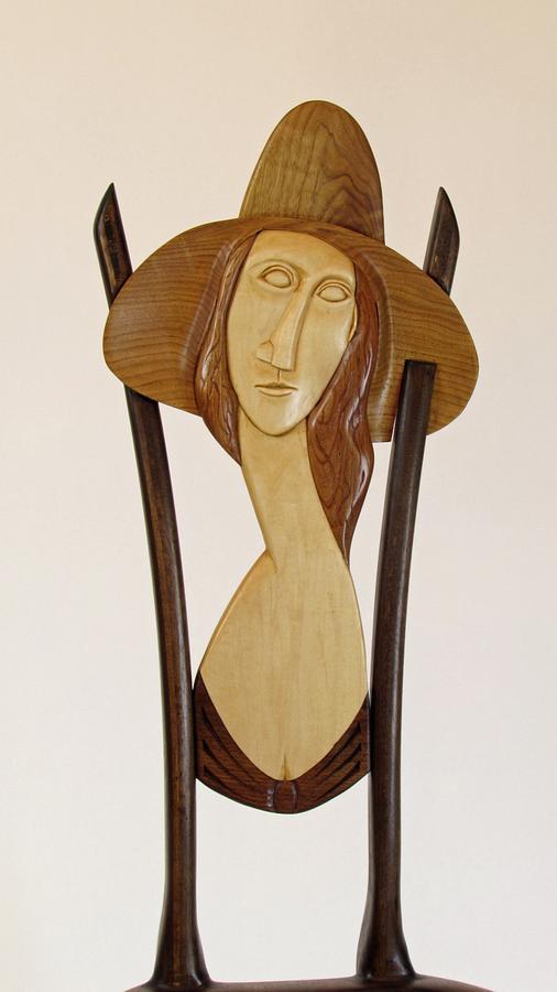 Modigliani's Jeanne Hebuterne Easel Chair - Woodworking Project by Woodbridge