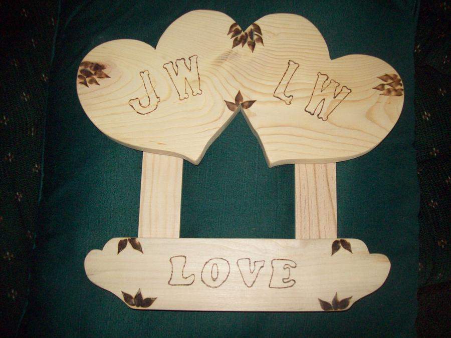 valentine for my lady - Woodworking Project by jim webster