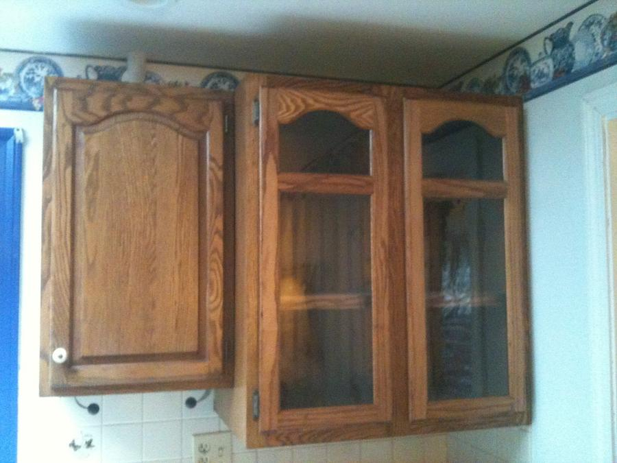 Oak cupboard - Woodworking Project by David A Sylvester