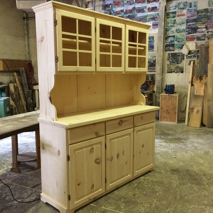 5' pine China cabinet  - Woodworking Project by Wowrustics