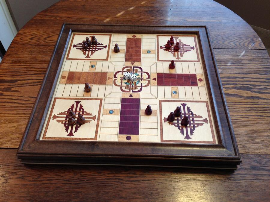 Parcheesi Game (and Wall Art) - Woodworking Project by Terry