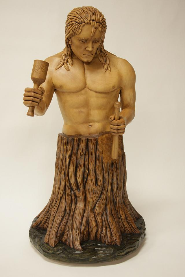 Self-Made Man Statue