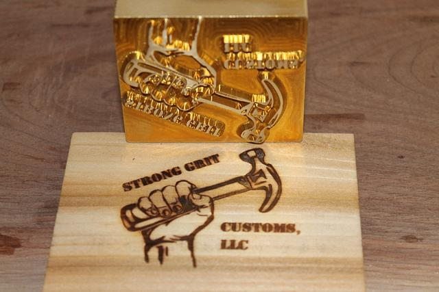 Custom Electric Brass Branding Irons - Metalworking Project by Chris Tasa