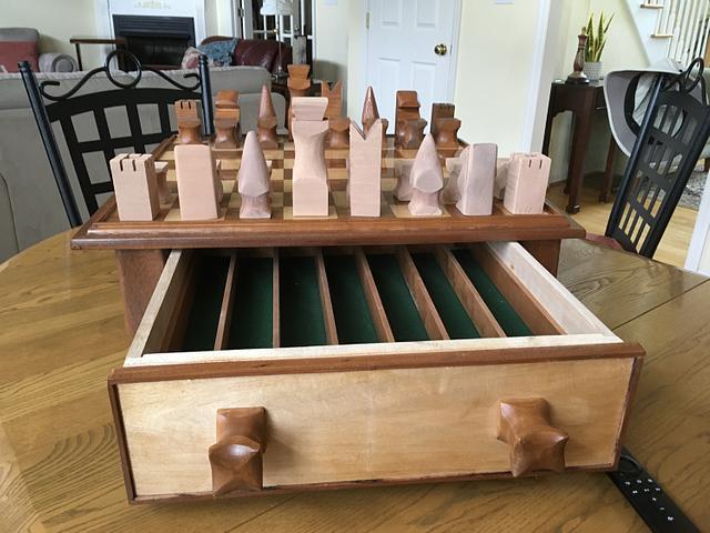 Rehabbed chess board
