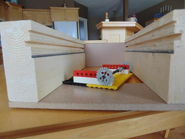 Barrister door mechanism model