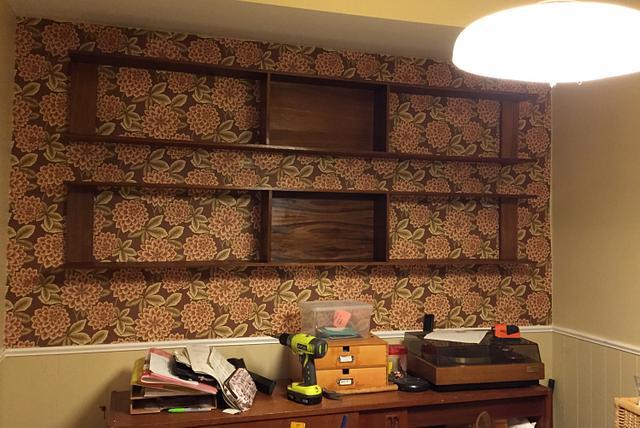 'Floating' Wall Shelf