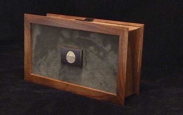 Walnut Man Box