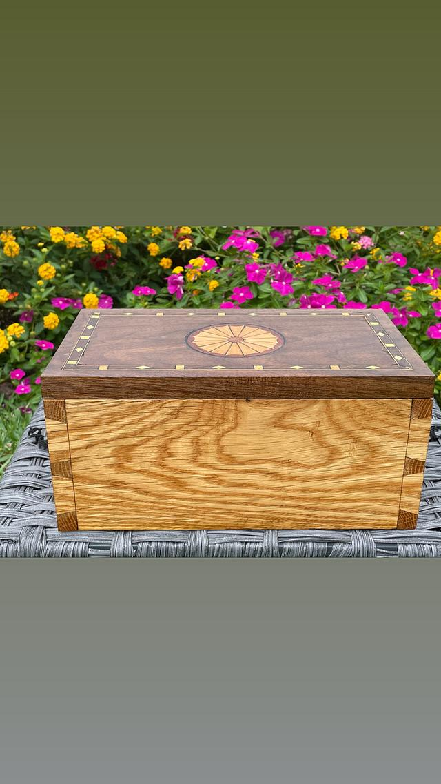 Federal inspired keepsake box