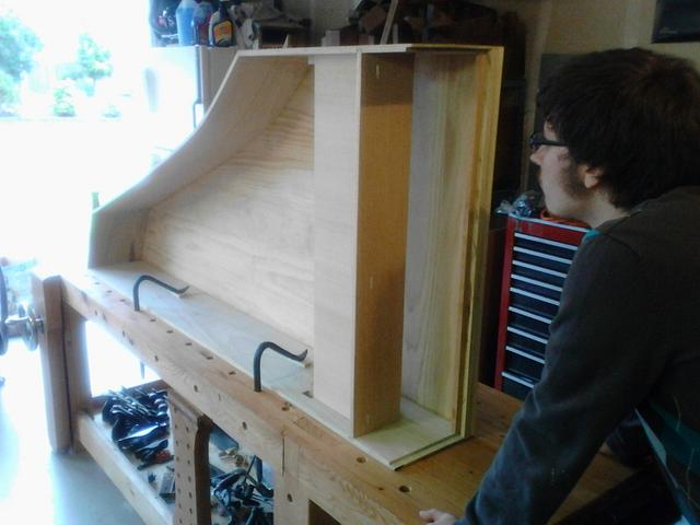 Molnar Opus1 Harpsichord Project - Woodworking Project by Darin
