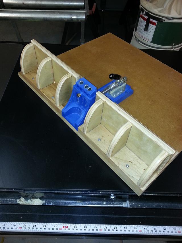 Kreg pocket hole jig - Woodworking Project by Jeff Vandenberg