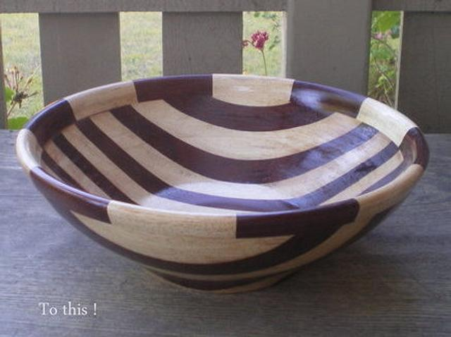 HOW TO TURN FLAT BLANK TO DEEP BOWL - Woodworking Project by Sam Shakouri