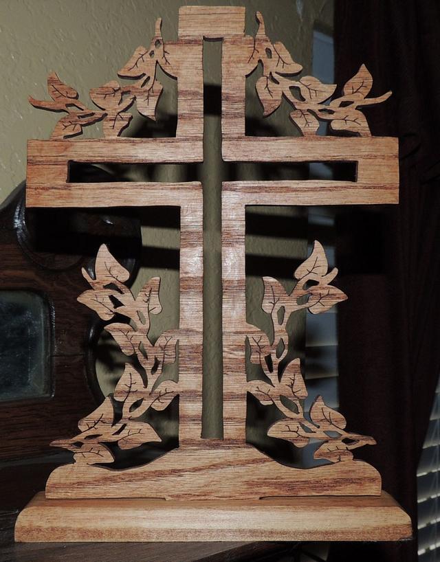 Cross in Scroll saw