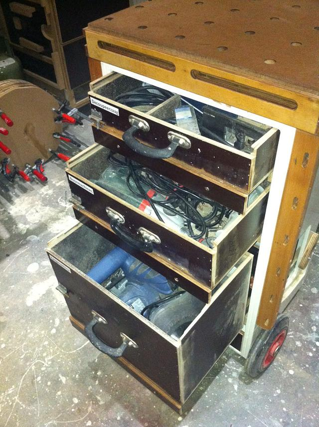 MFTC  Multi Function Tool Cart  or Mobile Workbench