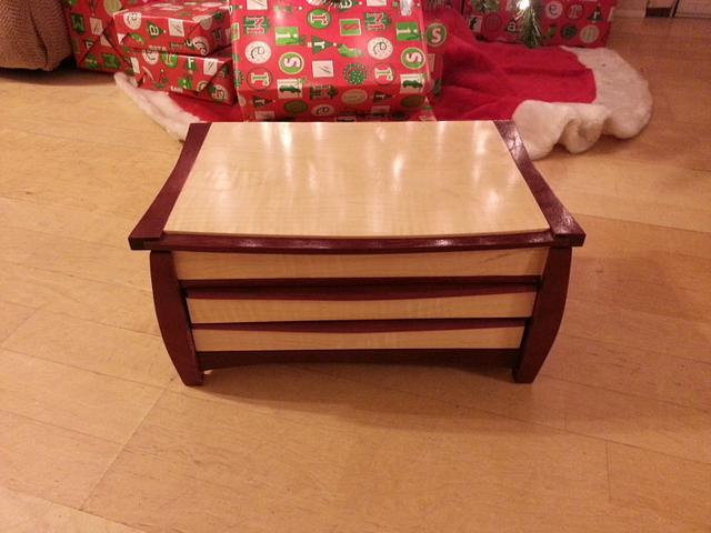 Old Project - Jewelry Box