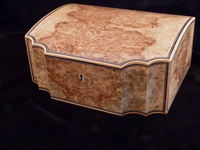 Oak Burl Box - Woodworking Project by RogerBean