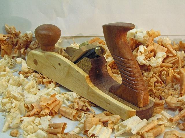 Buck Rogers Inspired Wooden Smoother