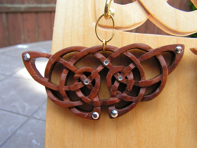 Celtic Pendants and Stand