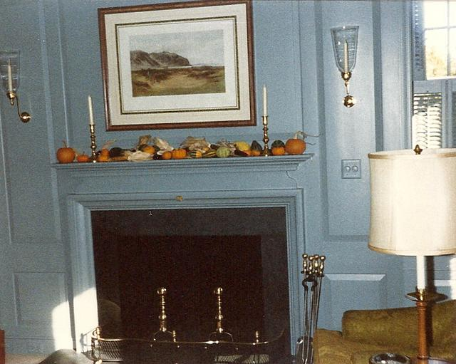 Mill Work and Casework: Raised Paneling and Mantel