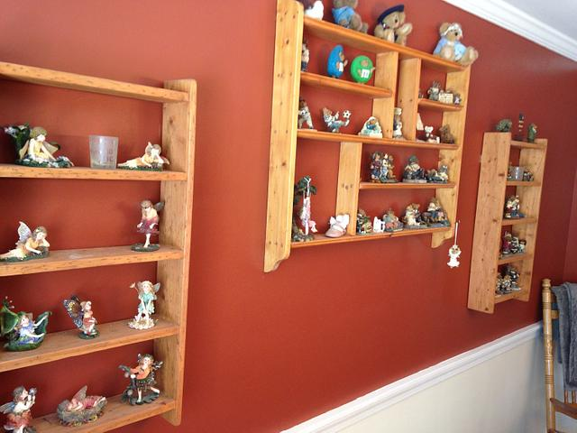 Shelves for Figurines