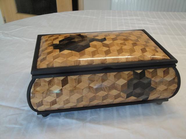 jewelry box - Woodworking Project by Uwe Salzmann