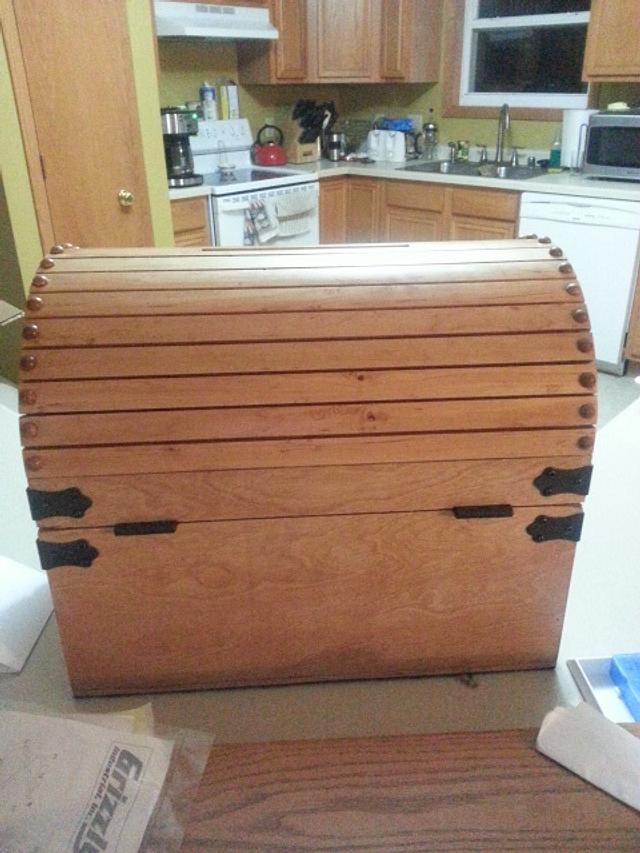 Steamer Trunk / Card Box