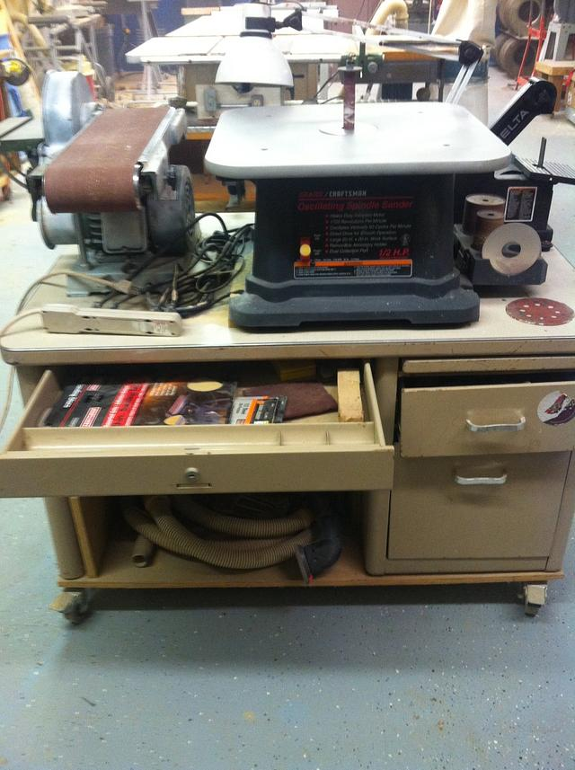The Tale of Two Old Teacher's Desk