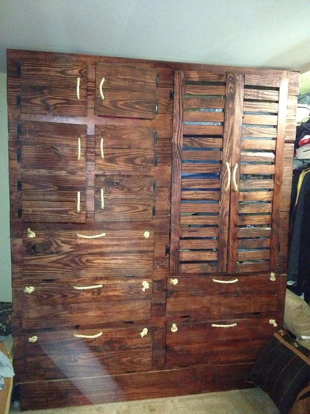 Hi-boy Dresser, reclaimed wood - Woodworking Project by Spivey