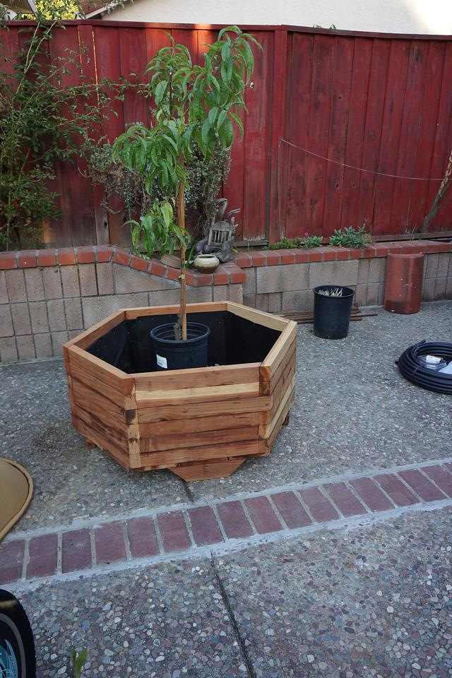 Quick and Dirty Planter - Woodworking Project by lanwater