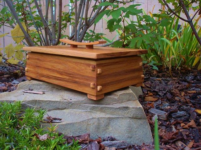 HARVEST BOX - Woodworking Project by kiefer