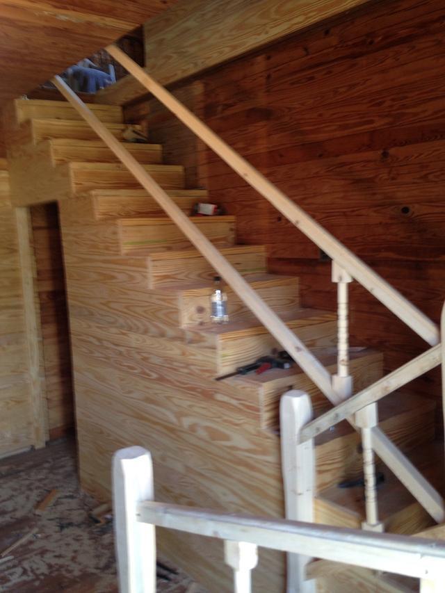 100 yr old house progress