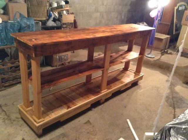 Hall table/ kitchen island