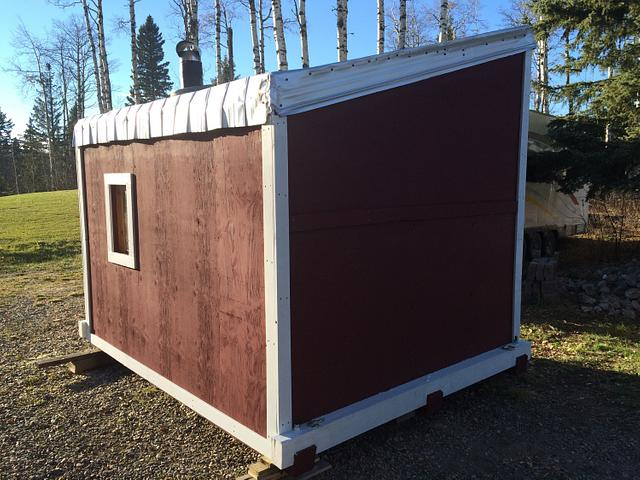 Ice Fishing Shack - Woodworking Project by Sheri Noble, woodworking at it's finest!