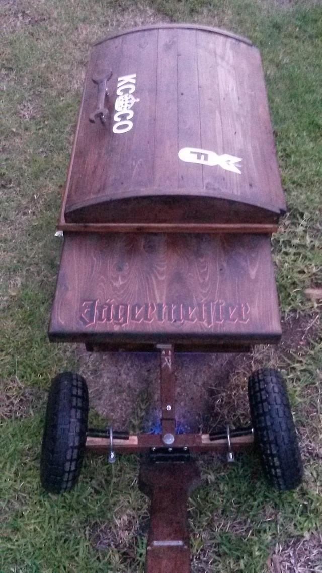Personal ice chest