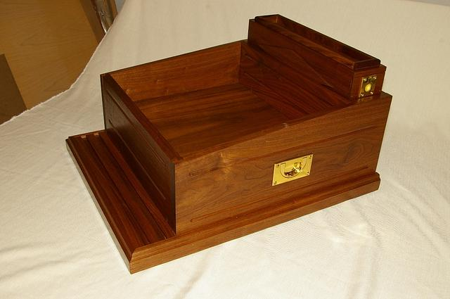 Walnut Docking/Charging Station - Woodworking Project by Michael Ray