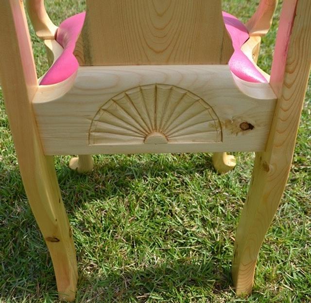 Princess Chair For My Princess