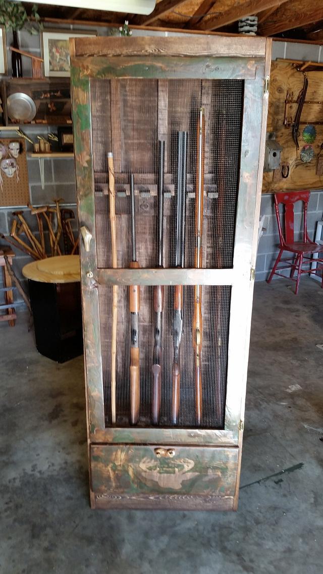 redneck gun cabinet