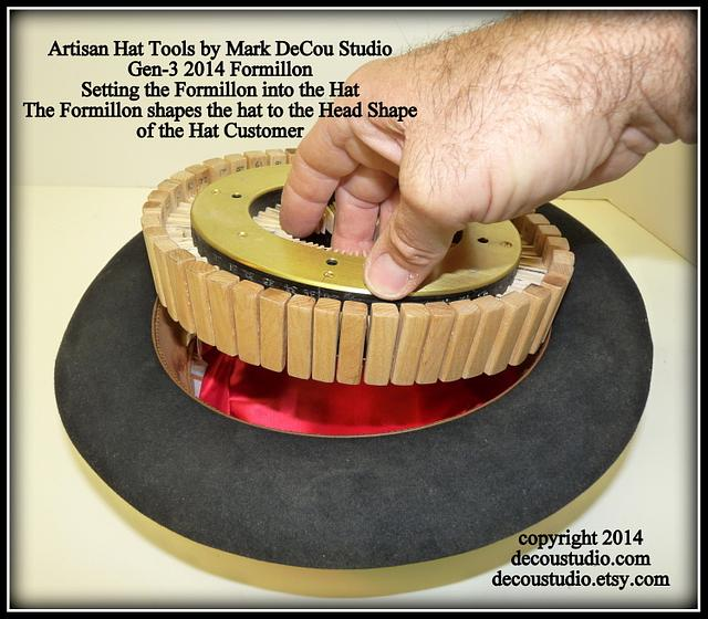 Measuring Heads for Custom Hats New Conformateur & Formillon Set by Mark DeCou Studio