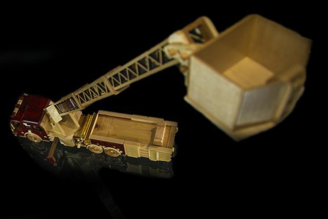 Fire Truck Platform Ladder Truck