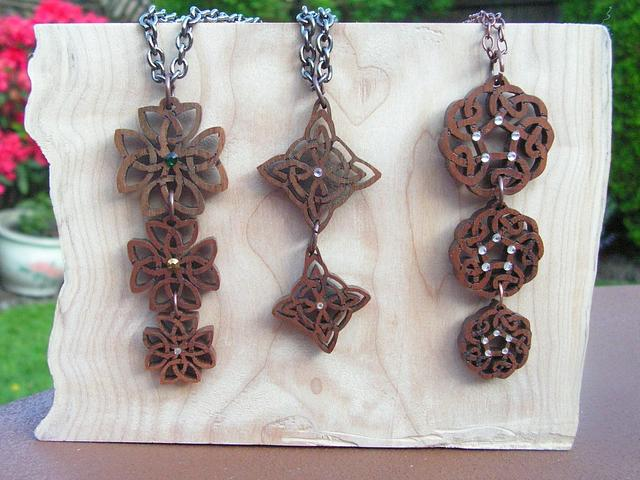 Celtic Pendants - Woodworking Project by Celticscroller