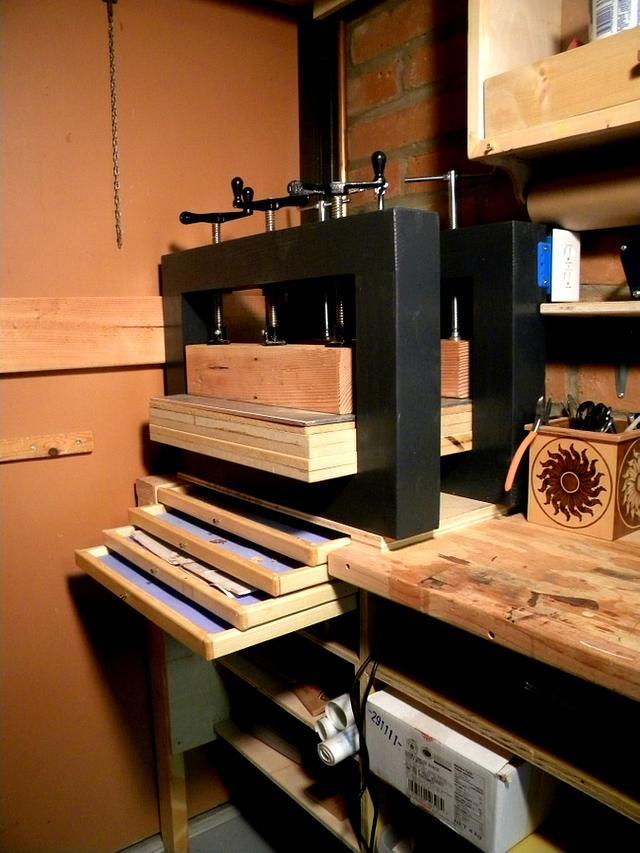 Modular Veneer Press